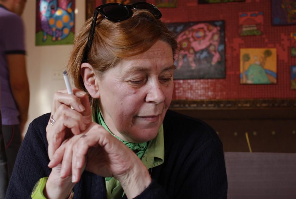 A 61 ans, Mimi touche la pension de retraite de son mari.