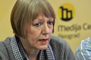 Sonja Biserko, présidente du Comité Helsinki en Serbie